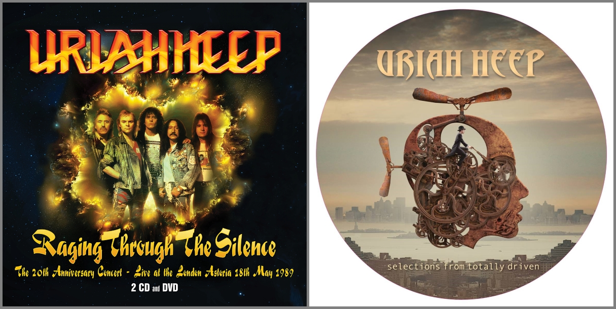 Uriah Heep Announce Release Of Raging Through The Silence